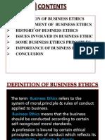 Business Ethics - Vivek