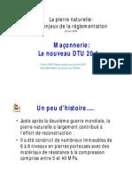 DTU_20.1 (Maçonnerie non armée)