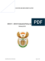 Industrial Policy Action Plan