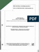 111. Especificaciones y Metodos de Prueba Para Agregados