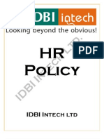 43951318 IDBI Intech HR Policy