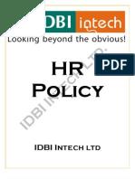 43951318 IDBI Intech HR Policy
