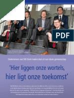 SNS Bank Noordwijk, Lisse, Katwijk (in Bollenstreek Intobusiness - maart 2012)
