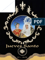 Revista Jueves Santo Virgen Dolores Santisteban 2012