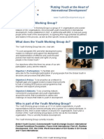 Youth in Development - About the DFID CSO Youth Working Group (PDF)
