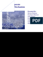 Internal Corporate Governnance Mechanism