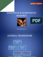 Quantitative vs Qualitative Research