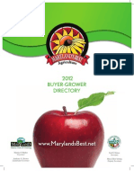 2012 Buyer Grower Directory