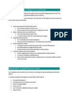 Recent Development in Global Financial Market