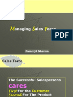 3903335 Marketing Managing Sales Force