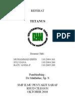 Referat Tetanus Neuroo