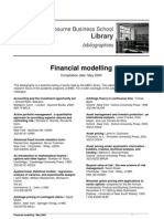 Financial Modelling Book List