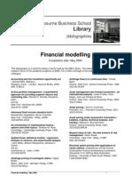 Financial Modelling Book List