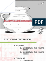 Fluid Volume Disturbances