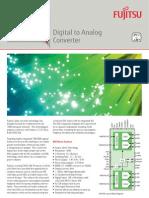 C60 - Fujitsu Digital to Analog Converter LEIA 55-65 GSa/s 8-bit DAC