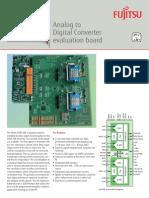 C64 - Fujitsu Analog to Digital Converter evaluation board LUKE-DK