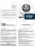 Spa Series Amp Manual English Spanish