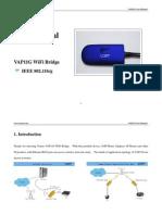VAP11G WiFi Bridge User Manual