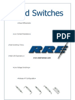 RRE Reed Switch Catalog