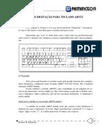 Apostila de Digitação Teclado ABNT2