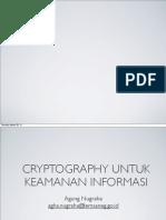 Cryptography Kuliah Tamu