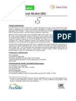 FlexiSolv Benzyl Alcohol Technical Data Sheet
