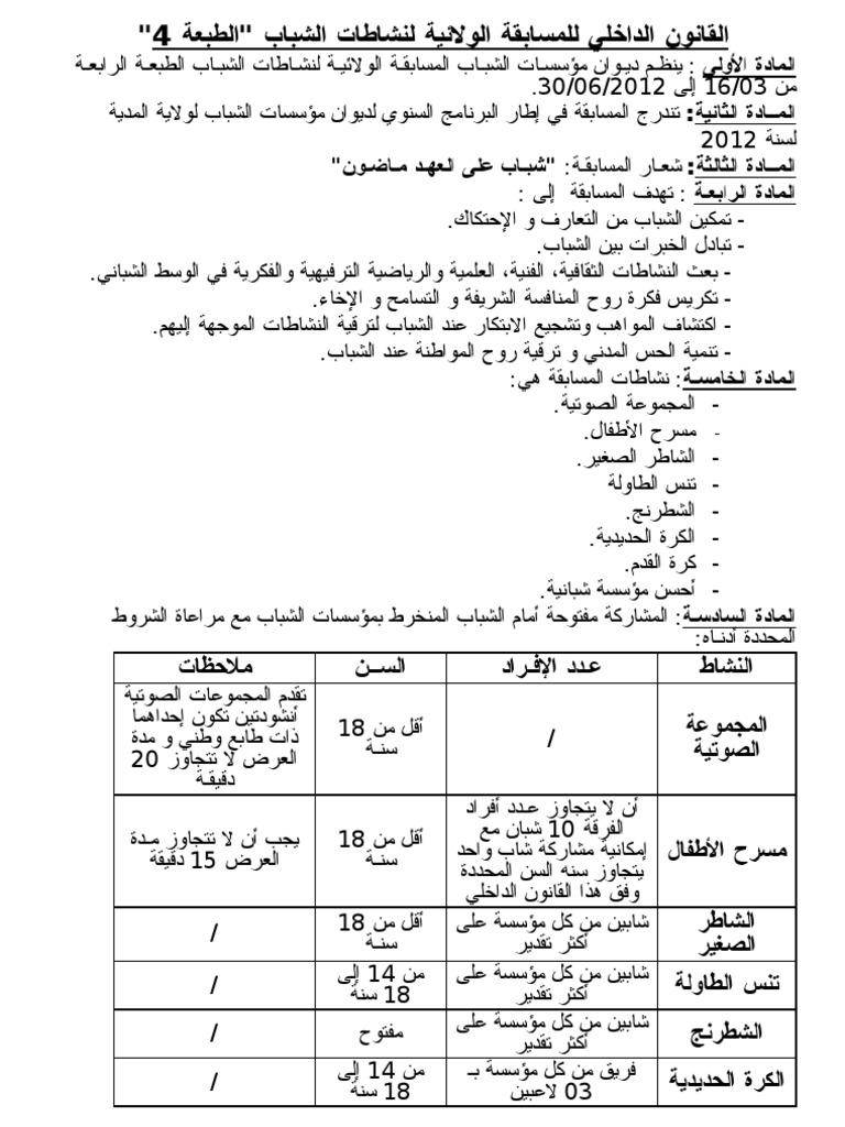 قانون تنس الطاولة Pdf Alttawila