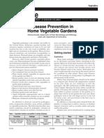 Gardening) Disease Prevention in Home Vegetable Gardens