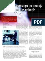 Grupo 1. Biossegurança e manejo animal (Revista Biotecnologia)[1]