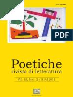 Poetiche n . 2|3 2011 - Anteprima articoli e abstract