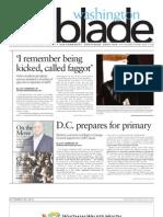 WashingtonBlade.com Volume 43, Number 13, March 30, 2012 1