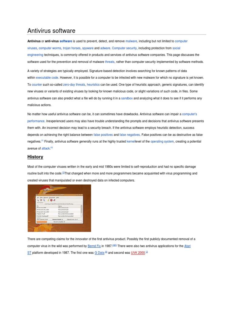 Antivirus Software | Antivirus Software | Computer Virus