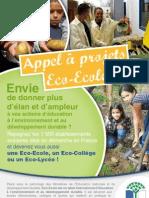Appel à projet Eco-Ecole 2012
