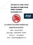 Health Card-draft Notification MARCH-2012