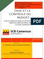 Mon Rapport de Stage a La SCB CAMEROUN _Groupe Attijariwafa Bank