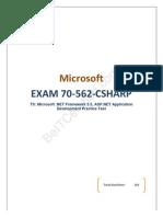 Pass4sure Microsoft 70-562