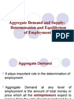 Effective Demand and Employment Determination