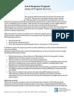 Foreclosure Prevention Response Program Final Report