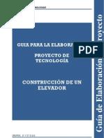 GUÍA DE ELABORACIÓN DEL PROYECTO
