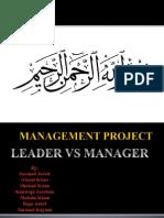 Management Project 007