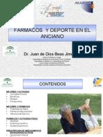FÁRMACOS  Y DEPORTE EN EL ANCIANO (29 de mayo 2009)