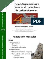 Nutrición Lesión Muscular (16 marzo 2012)