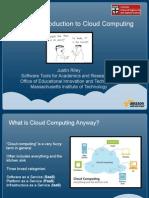 Cs264 Intro to Cloud Computing