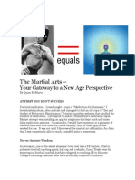 The Martial Arts – Your Gateway to a New Age Perspective