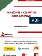 Pensiones Y Cesantias 2012