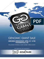 Sale Catalog - Genomic Giant Sale