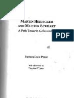 Martin Heidegger and Meister Eckhart - Dalle Pezze, Barbara (2008) [Grayscale OCR]