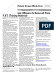 March 29, 2012 - The Federal Crimes Watch Daily