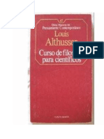 Althusser Louis Curso de Filosofa Para Cientficos 1967 63756300