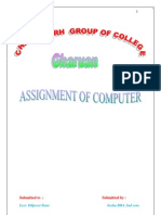 Assignment of Computer Bt Insha Bba 2nd Sem. (1)